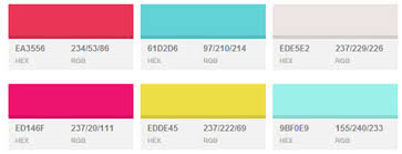trending color palettes 10 new color palettes to ring in the new year