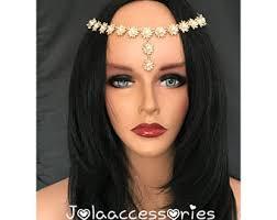 forehead headband forehead headband etsy