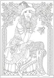 Halloween Coloring Pages For Adults by Steampunk Artwork By Marty Noble From Creative Haven Steampunk