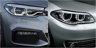 lexus vs bmw 5 series sadly the handsome new 2017 bmw 5 series looks exactly like the