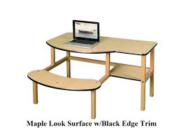 Desk For 2 Kids by Buddy Desk Grade School Desk For 1 Or 2 Kids Children Play