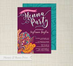 henna invitation henna party invite moroccan invite wedding shower boho