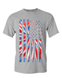 How To Tie Dye An American Flag Tie Dye American Flag T Shirt 4th Of July Stars And Stripes Mens