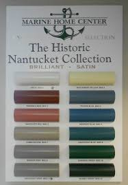 how did nantucket ma choose their historic colors nantucket