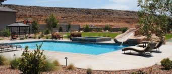 Pool Home by Custom Homes And Pools In St George Ut Hewett Contracting