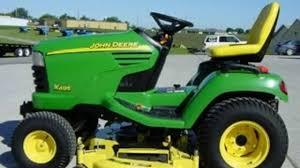 john deere x595 lawn u0026 garden tractor service repair manual