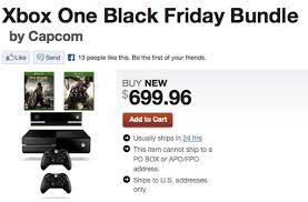 black friday deals for xbox one gamestop black friday xbox one bundle packs in ryse dead rising 3