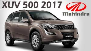 mahindra xuv500 2017 launched new updated w6 u0026 w10 variants in