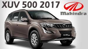 indian car mahindra mahindra xuv500 2017 launched new updated w6 u0026 w10 variants in