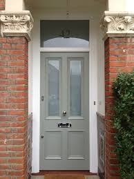 a lovely victorian 4 panel front door in farrow u0026 ball pigeon no