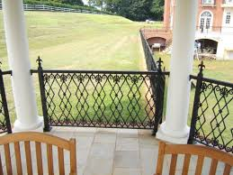 decorative aluminum railing