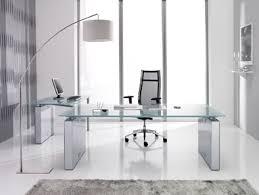 Glas Desk Glass Desk Office Furniture Wonderful In Inspirational Home