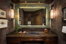 rustic bathroom lighting ideas alluring alluring unique rustic bathrooms gallery ideas bathroom rustic