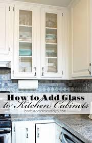 Kitchen Cabinet Door Fronts Replacements Kitchen Amazing Best 25 Glass Cabinet Doors Ideas On Pinterest
