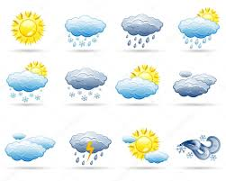 weather icon set u2014 stock vector filata nata 5660247