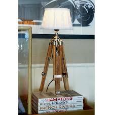Wohnzimmer Lampenschirm Classic Tripod Lamp Teak S Lampen U0026 Lampenschirme Wohnzimmer