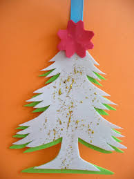 diy christmas tree card easy card kids can make for their