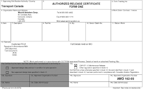 authorized release certificates kristal