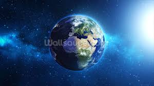planet earth wallpaper wall mural wallsauce planet earth wall mural photo wallpaper