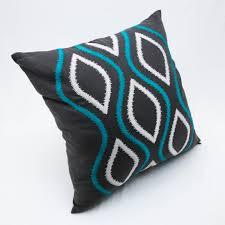 ikat decorative pillow cover throw pillow cover geometric pillow