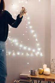 uo diy sparkling string light tree outfitters