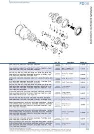 ford rear axle page 251 sparex parts lists u0026 diagrams