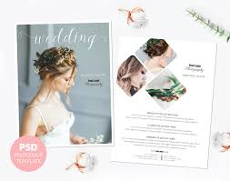 pricing template wedding photography price list marketing