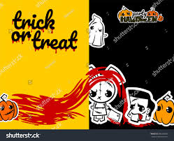 halloween sticker books halloween evil bunny rabbit ghost knife stock vector 686368387