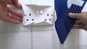 Easy Apply Wallpaper by How To Wallpaper Around A Light Switch Or Wall Socket Nice And