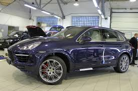 porsche chrome cayenne