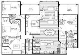 4 bedroom floor plan smartness design 4 bedroom house plans fully furnished 15 17 best