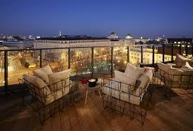 designer hotel wien rooftop bar of 25 hours hotel vienna 25th hour
