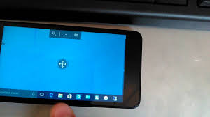 controle bureau a distance comment afficher le bureau a distance sur windows phone
