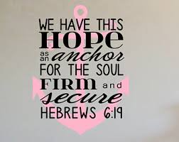 Anchor For The Soul Etsy - hebrews 6 19 decal etsy