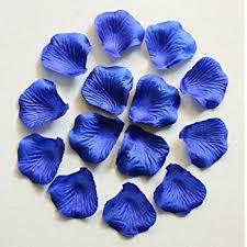 blue flowers for wedding 1000pc royal blue wedding table decoration silk