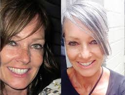 platinum hair on 50 year old 456 best growing out gray discovering silver images on pinterest