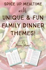 family dinner theme ideas the american patriette