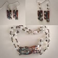 silver earrings necklace images Silver bracelet silver earrings moonstone chain lynncobb jpeg