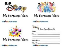 personalized autograph books disney customized autograph books page 2 disney