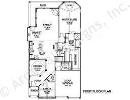 Octagon Shaped House Plans Topaz Peak Narrow Floor Plans European House Plans