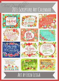printable art calendar 2015 2015 free printable calendar free printable scripture art