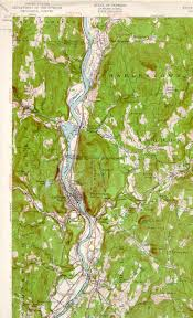 State Of Vermont Map by Bellows Falls Nh Vt Quadrangle