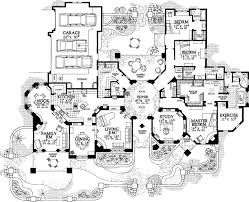 southwestern home plans luxury style house plans plan 68 133