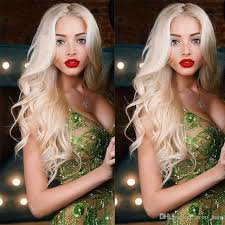 hairstyles with body wave hairnfor 60 color 613 glueless full lace blonde human hair wig body wave