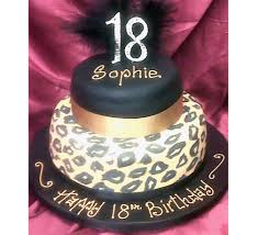2 tier leopard print cake m rays bakery