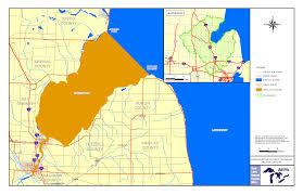 Weather Map Of Michigan by Saginaw Bay Wikipedia