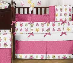 Owls Crib Bedding Happy Owl Crib Bedding Set By Sweet Jojo Designs 9