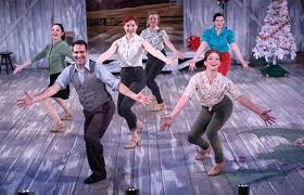theater review irving berlin u0027s white christmas northern stage