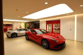barrisol light boxes light up ferrari showroom u2013 eboss