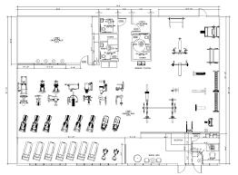 gym floor plan template decorin